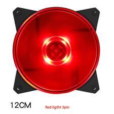 3 Pin Cooler Master Ventola Pc 120mm Chassis Case Fan 12V 32.5 CFM Raffreddatore