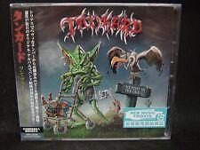 TANKARD One Foot In The Grave JAPAN CD Tankwart Lightmare Seventh Avenue