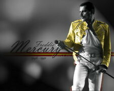 Freddie Mercury, 8 x10 Inch High Quality Color Picture/Poster New