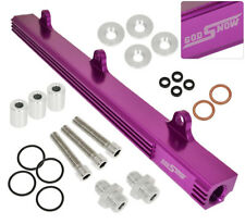 B-Series B16A B18C Eg Ek Dc Jdm Racing Motor Cnc Fuel Injection Rail Kit Purple