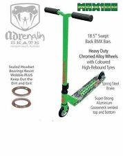 Adrenalin Max 100 Stunt Scooter Lime