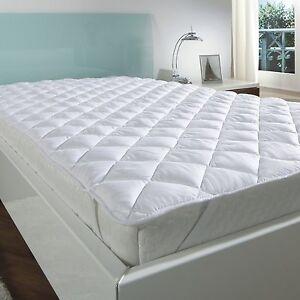Matratze Auflage Schonbezug Unterbett Matratzenschutz für Matratzen  140x200 NEU