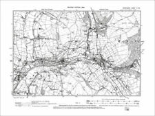 United Kingdom Derbyshire Antique Europe Maps & Atlases