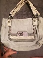24f1640744 Coach Kristin leather crossbody Hobo shoulder satchel purse tote