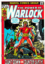 WARLOCK #2 (FN-) Classic Bronze-Age Issue! 1972 Counter Earth