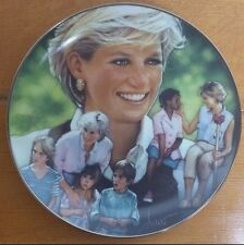 Diana Princess of Whales Collector Plate: Angel of Hopes