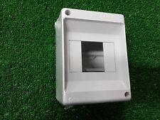 centralino quadretto elettrico da parete 4 moduli ip30 barra din