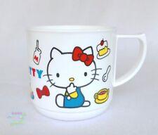 New Pattern SANRIO HELLO KITTY KAWAII BENTO Cup with Handle Plastic 240ml