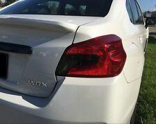 2015 2016 2017 Subaru WRX / WRX STi Sedan Tail Light Tint Overlays