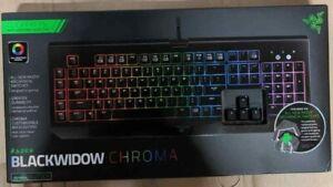 Razer BlackWidow Chroma Clicky RGB Mechanical Gaming Keyboard - German Layout