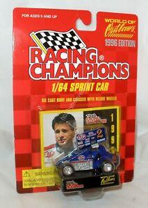 1:64 RC RACING CHAMPIONS 1996 WOO SPRINT CAR #2 STP ANDY HILLENBURG NIP