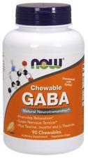 GABA 250 mg Chewable Now Foods 90 Chewable