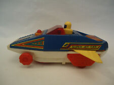 Vintage Very Rare Taiwan Super Jet Car Space Car Battery Plastic Toy
