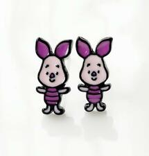 2pcs Disney piglet kids metal earring ear stud earrings studs manga