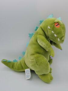 "Plush Vintage Rugrats Dinosaur Reptar 11"" Applause 1997"