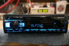 Alpine UTE-73BT Single-DIN Digital Media Stereo w/ Bluetooth
