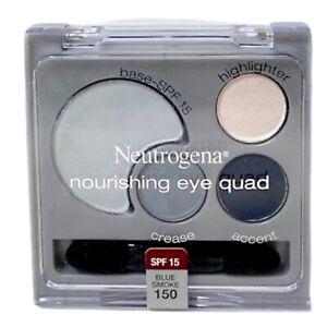 Neutrogena Nourishing Eye Quad Eye Shadow 150 Blue Smoke New Sealed