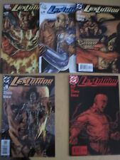 LEX LUTHOR, MAN of STEEL : COMPLETE 5 ISSUE SUPERMAN SERIES by AZZARELLO.DC.2005