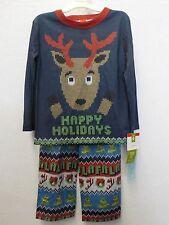 Boys Size 6 Target Reindeer Sweater LOOK Christmas 2 PC Pajamas ...