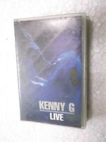 KENNY G  LIVE  1994 RARE orig CASSETTE TAPE INDIA indian