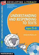 Understanding and Responding to Texts: For Ages 5-6 (100% New Developing Literac