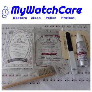 Luxury Watch Care Kit - Cleaning, Buffing & Polishing -Cape Cod-Bergeon-Selvit