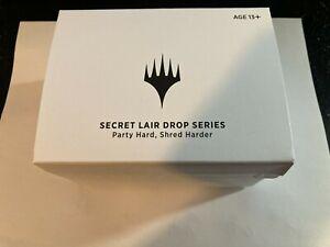Brand New SEALED MTG Secret Lair Secretversary Party Hard, Shred Harder UNOPENED