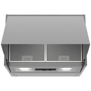 Siemens LE63MAC00B IQ-100 Built-In 60cm 3 Speeds Integrated Cooker Hood - Silver