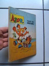 EDITION MONDIALES / RELIURE  AZOR  1  /  (NUMEROS  1 A 4  )  / 1962