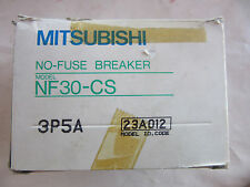 Mitsubishi  NF30-CS-5A Circuit Breaker 3 Pole 5 Amp 41-24879 NEW!!! in Box