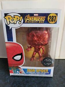 Funko Marvel Avengers Infinity War Iron Spider 287 Pop Vinyl *Exclusive*