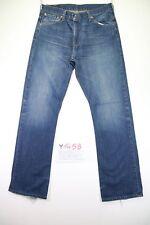 Levi's 507 Bootcut (Cod. Y1458) tg47 W33 L34 jeans Vita Alta usato vintage zampa