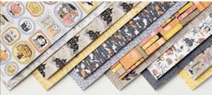 Stampin Up Retired MONSTER BASH Designer Series Paper 12 Sheets NEW Halloween