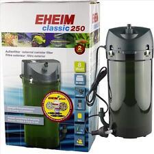 EHEIM EXTERNAL CANISTER AQUARIUM FILTER CLASSIC 250 (MODEL 2213) 20-66 GALLONS