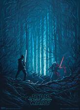 Gift for Him: Ltd. Ed. StarWars Force Awakens VII (Rouge One) Poster Dan Mumford