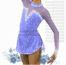 Ice skating dress.Competition Figure Skating 2017 New Rhythmic Gymnastics custom