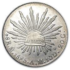 Mexico Silver 8 Reales Cap&Rays AU (ASW .7859 oz)