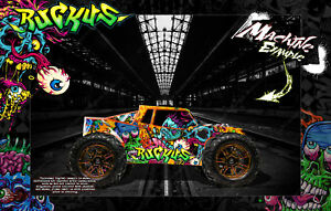 LOSI LST 3XL-E WRAP DECAL HOP-UP CUSTOM KIT PARTS 'RUCKUS' FITS LOS340000 BODY