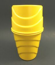 Stanley Home Products Cascade Blender Yellow Plastic Vintage Nice
