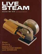 Live Steam V14 N12 December 1980 Elmer Verburg's Showcase Series with Wobbler