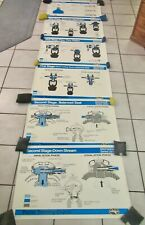 New listing 6 Vintage Dacor Series Cm-5 Scuba Diving Gear Mechanical Charts Posters