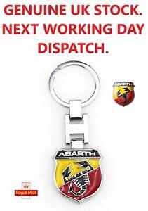 Key Ring . Will Fit Fiat  ABARTH  All Models. 87mm x 30mm .  1 Piece.