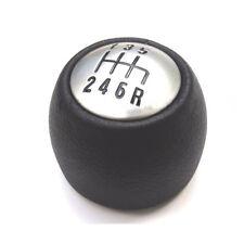 6 Speed Black Leather Gear Knob OE 55347088 Alfa Romeo GT 147 166