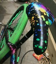 Mafia Bikes roulettes siège-Damier-Bleu