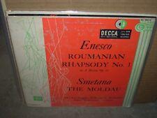 "WALLENSTEIN / ENESCO / SMETANA roumanian rhapsody / moldau ( classical ) 10"""