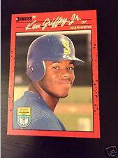 1990 Donruss Learning Series 8 Ken Griffey Jr Seattle Mariners Jr. Baseball Card