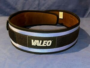 Valeo Light Nylon Weight Lifting Belt Back Support made in USA