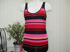 "oasis"" ladies stripey top size large"