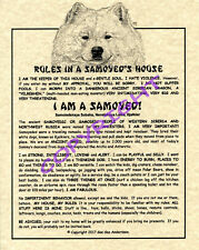 Rules In A Samoyed's House