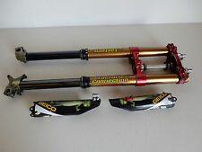 2013 Honda CRF450 Forks A Kit Showa Ride Engineering Triple Clamps Suspension
